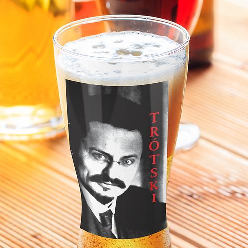Copo de cerveja - Linha Trotski frase