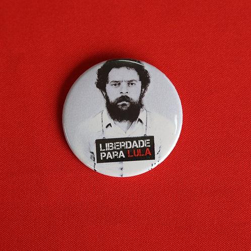 Bóton Liberdade Para Lula