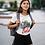 Thumbnail: Camiseta Linha Lula arte João Pinheiro