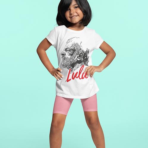 Camiseta Infantil Manga Curta -    Linha Lula João Pinheiro