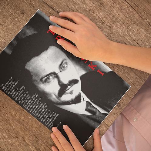 Poster A4 - Linha Trotski frases