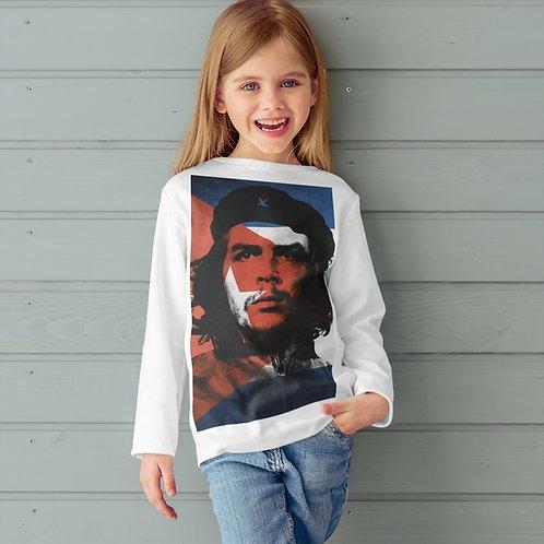 Camiseta Infantil Manga Longa -    Linha che collor