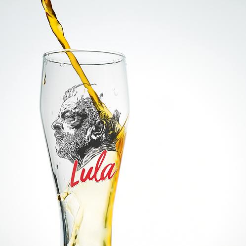 Copo de cerveja -  Linha Lula arte João Pinheiro