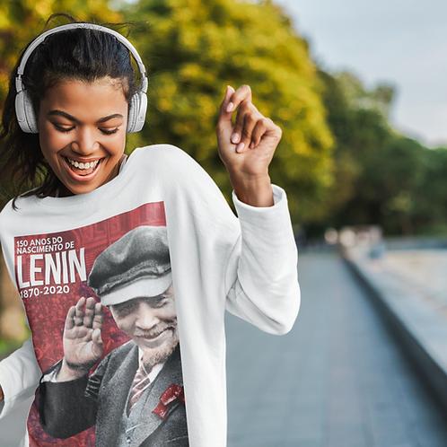 Moletom Sem Capuz -    Lenin 150 anos