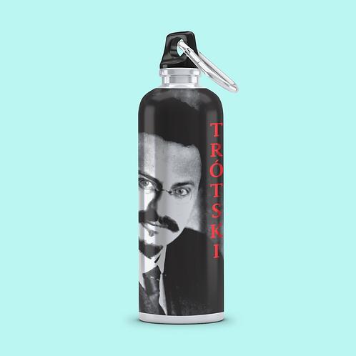 Squeeze Copo Tampa Plastico - Linha Trotski frase