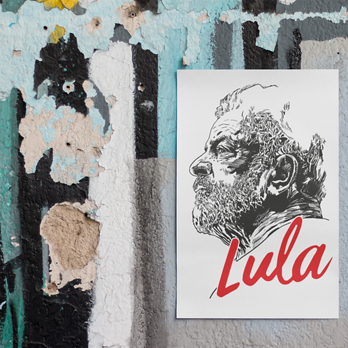 Poster A3 - Linha Lula Arte João Pinheiro