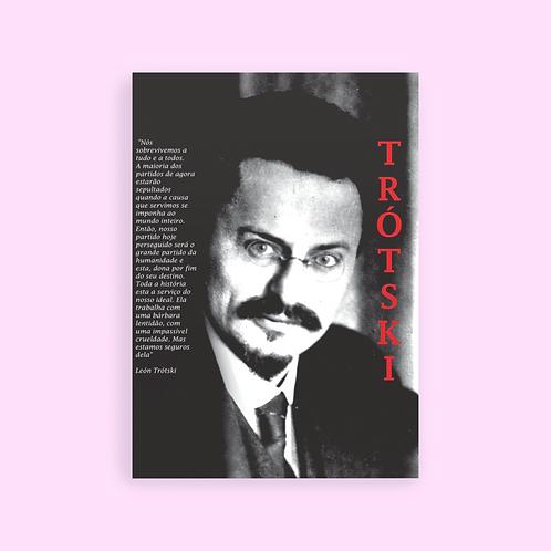 Poster A1 - Linha Trotski frases