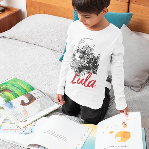 Camiseta Infantil Manga Longa -    Linha Lula João Pinheiro