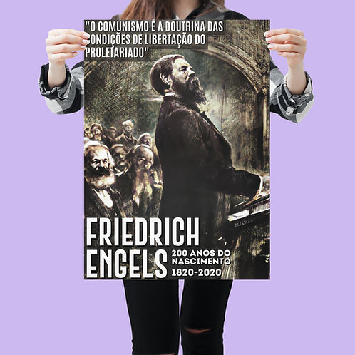 Poster A3 - Linha 200 anos Engels
