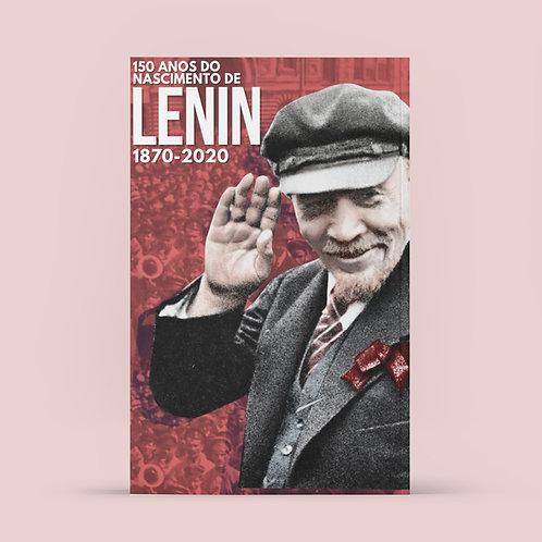 Poster A1 - Lenin 150 anos