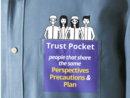"If I'm comfortable operating in a ""trust pocket"", how can we use this to plug into the office?"