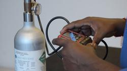 Pressure/Temperature Calibrator