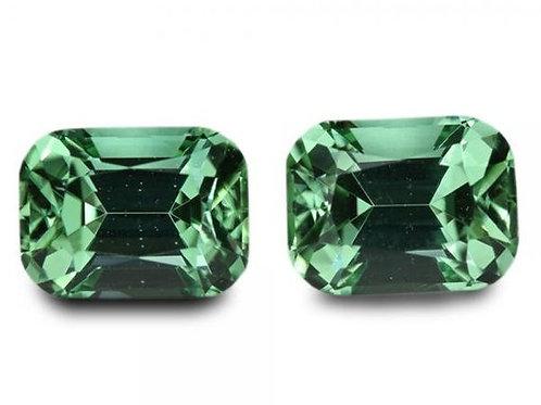 2.41 Cts - Tourmaline Loose Natural Gemstones - Cushion Pair