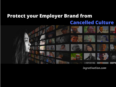 In the age of #CancelledCulture, what are you doing to safeguard your #employerbrand?