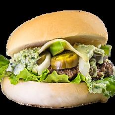 Sassy Jalapeno Burger