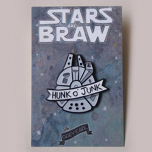 Hunk o' Junk - enamel pin
