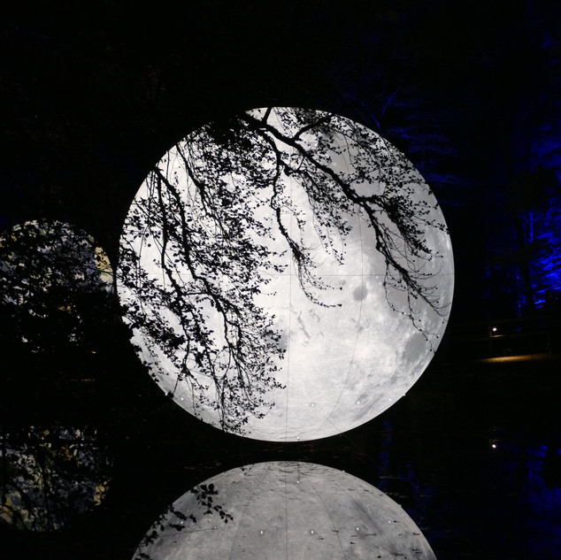Full moon, Pitlochry