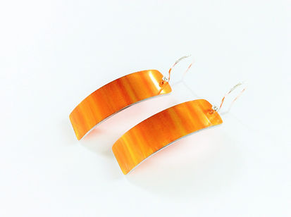 Jenna McDonald No.5a Orange Earrings.JPG
