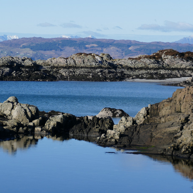 Skye and Cuillin from Morar