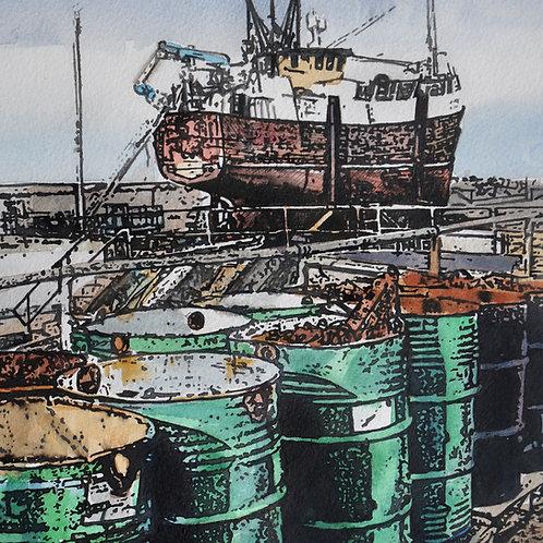 Buckie Boatyard