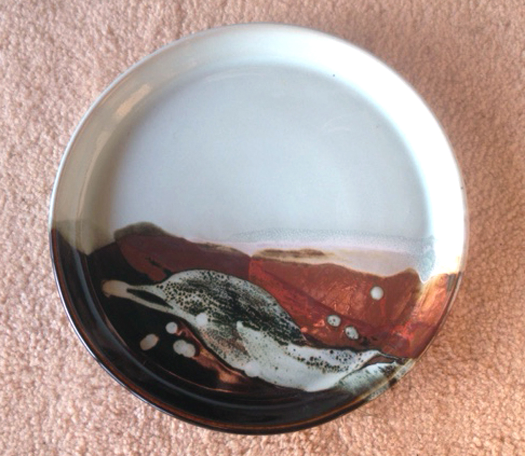 Dinner plate or small platter