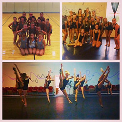 Such a fun and productive week in Iowa! Loved choreographing for  two amazing, hard-working teams! C