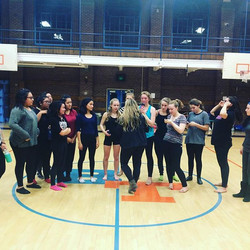 #TBT to working with Benson Dance Team last year on their state routine! 👯 See you on Saturday! _kz