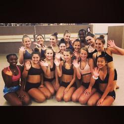 Had a blast teaching at _backstagedancestudio yesterday! These dancers killed! 💃 #synergydancellc _