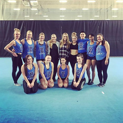 It was so great to be back in Kansas with #BCCDanceTeam!!! 💙 Thanks _mandyschnoebelen for bringing