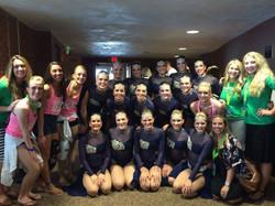 Utah Valley University Dance Team
