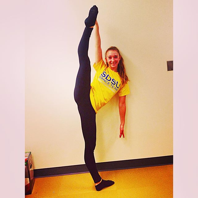 Check out this week's #tilttuesday featuring Ali from South Dakota State University Dance Team! Abso