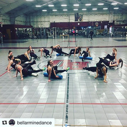 A picture's 📸 worth a thousand words and this one says a lot about how hard _bellarminedance worked