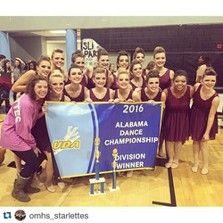 _omhs_starlettes are state champs in kick!!! So proud and lucky to have worked with such an amazing
