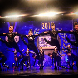 I was so lucky to work with _omhs_starlettes this year on their UDA kick routine! Such an amazing pe