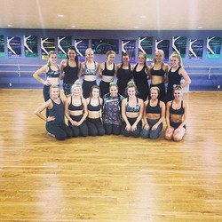 Amazing day of choreo with __5678_dancestudio 👯 These dancers impressed me so much and I can't wait