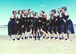 Love my girls from _gojacksdance 💙💙💙I'm so proud of your hard work, beautiful performances and 9t