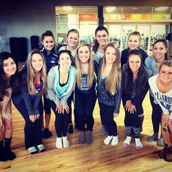 Amazing weekend working with the talented dancers of _villanovadanceteam 💕Can't wait to see what yo
