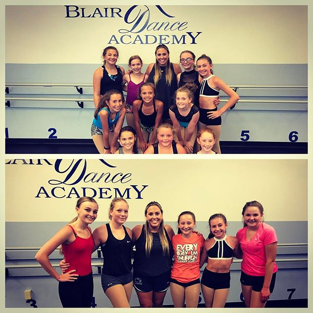 #FBF to my master class with _blairdanceacademy this past week! 👯 ✨ I had such a wonderful time wor