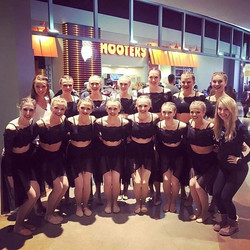 So proud of _gojacksdance on their 2nd place finish this past weekend at #uda Mall of America compet