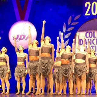 Congrats _goshockersdance on your beautiful performance this past weekend at UDA nationals