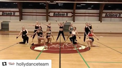 Love seeing my teams hard at work and improving every day! 💕 _hollydanceteam #Repost _hollydancetea
