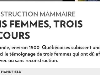 La Presse + MAJOLY DION | 3 femmes, trois parcours.