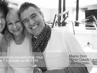 Majoly Dion s'entretient avec Marie-Claude Lavallée au 98.5 FM