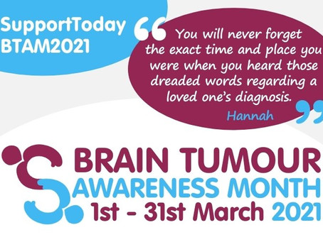 Brain Tumour Awareness Month 2021