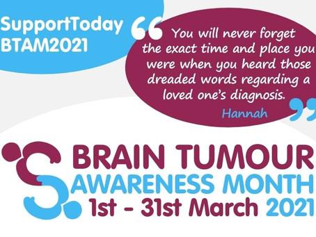 Brain Tumour Awareness Month 2021