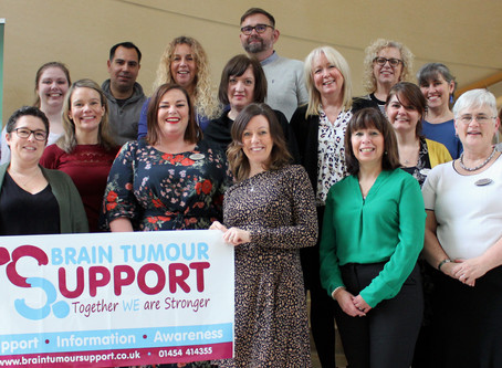 Aviva Centre Bristol chooses Brain Tumour Support as its charity for 2020