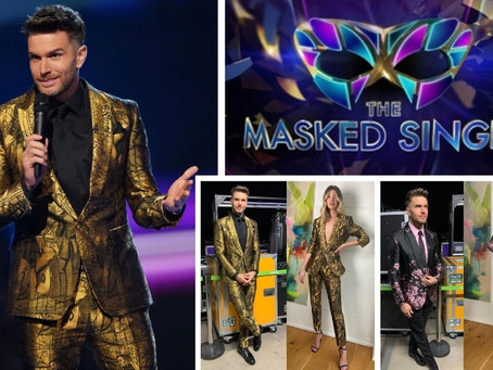Joel Dommett's fabulous Masked Singer Suit Raffle
