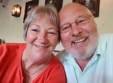 Couple joins Together £500 Club as a thank you for the support they received