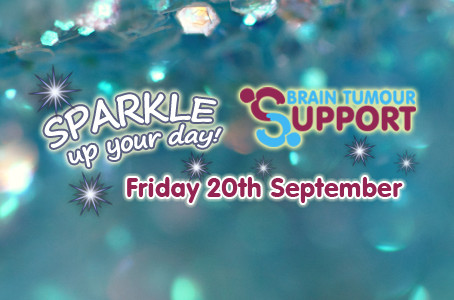 Sparkle up your day for Brain Tumour Support
