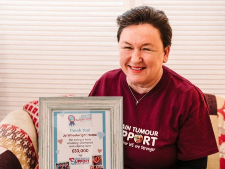 Stratford Sunday Lunch Club raises more than £33,000 for Brain Tumour Support